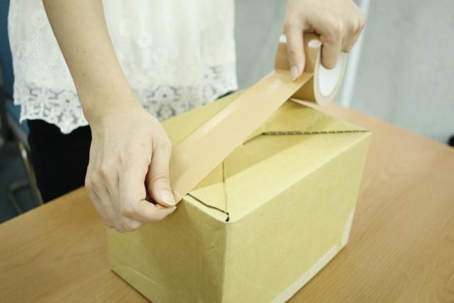 メルカリで箱物を梱包方法