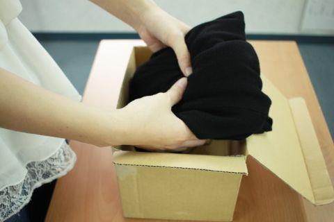 洋服 梱包方法